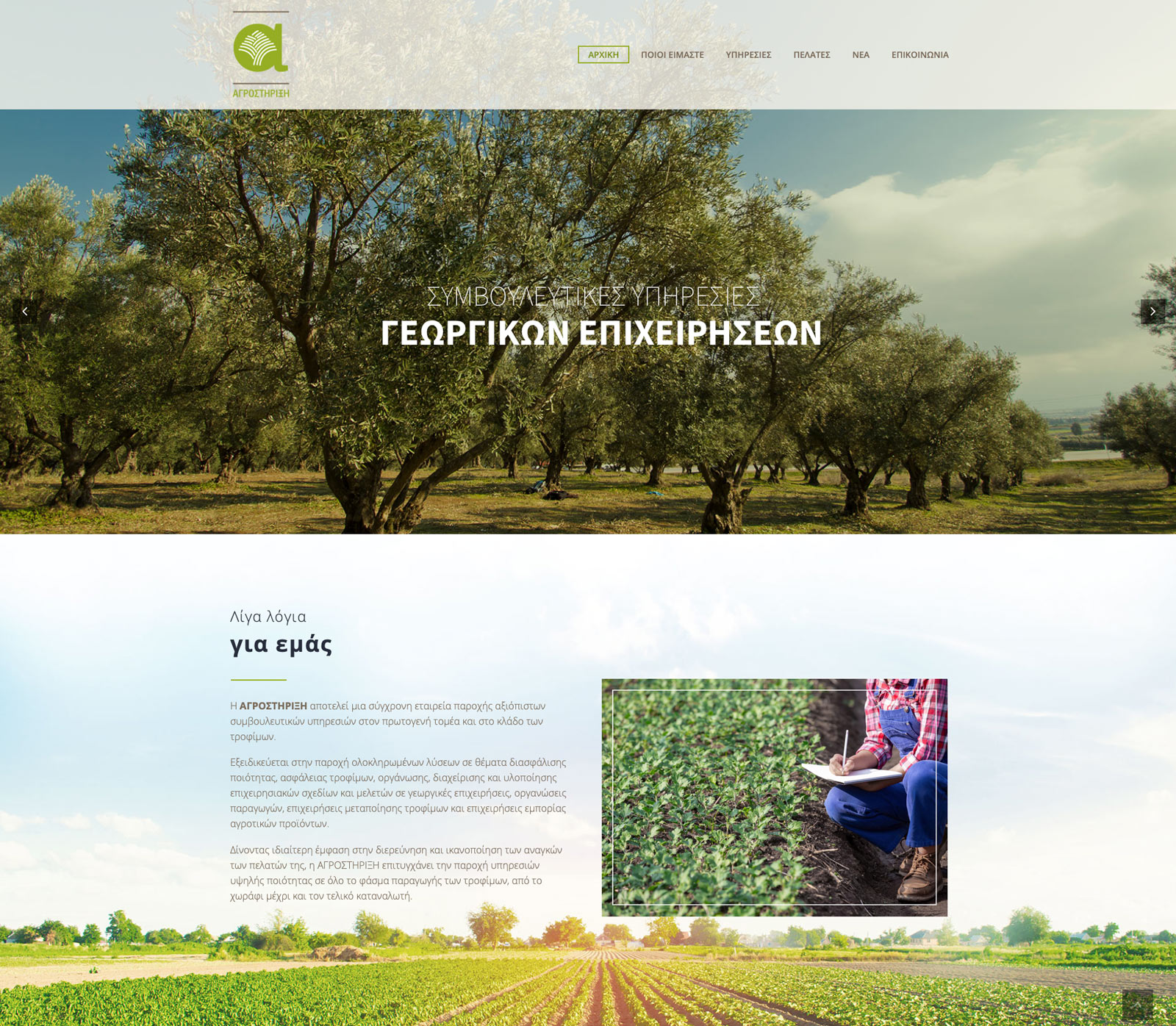 Agrostirixi website