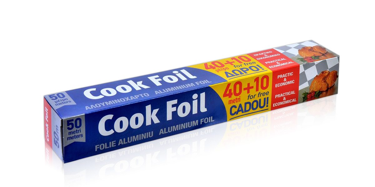 cook foil alouminion thalassinos
