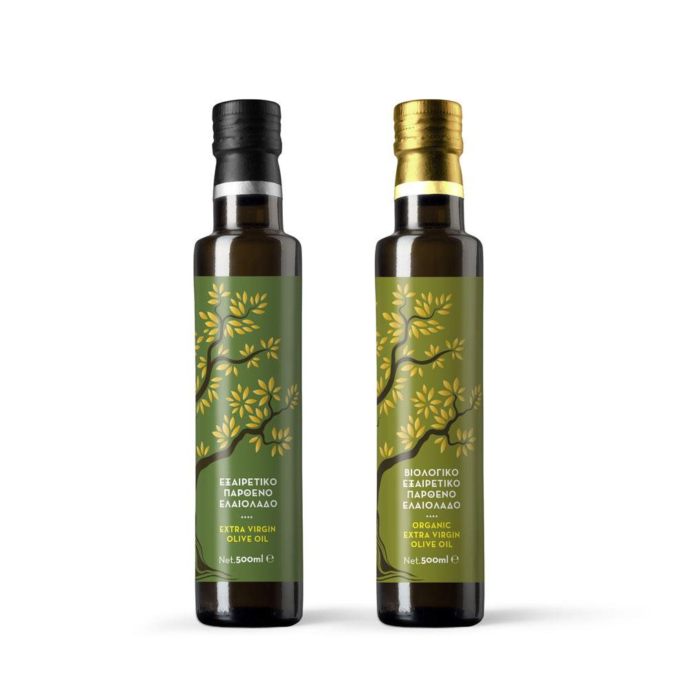 greek nature estate packaging