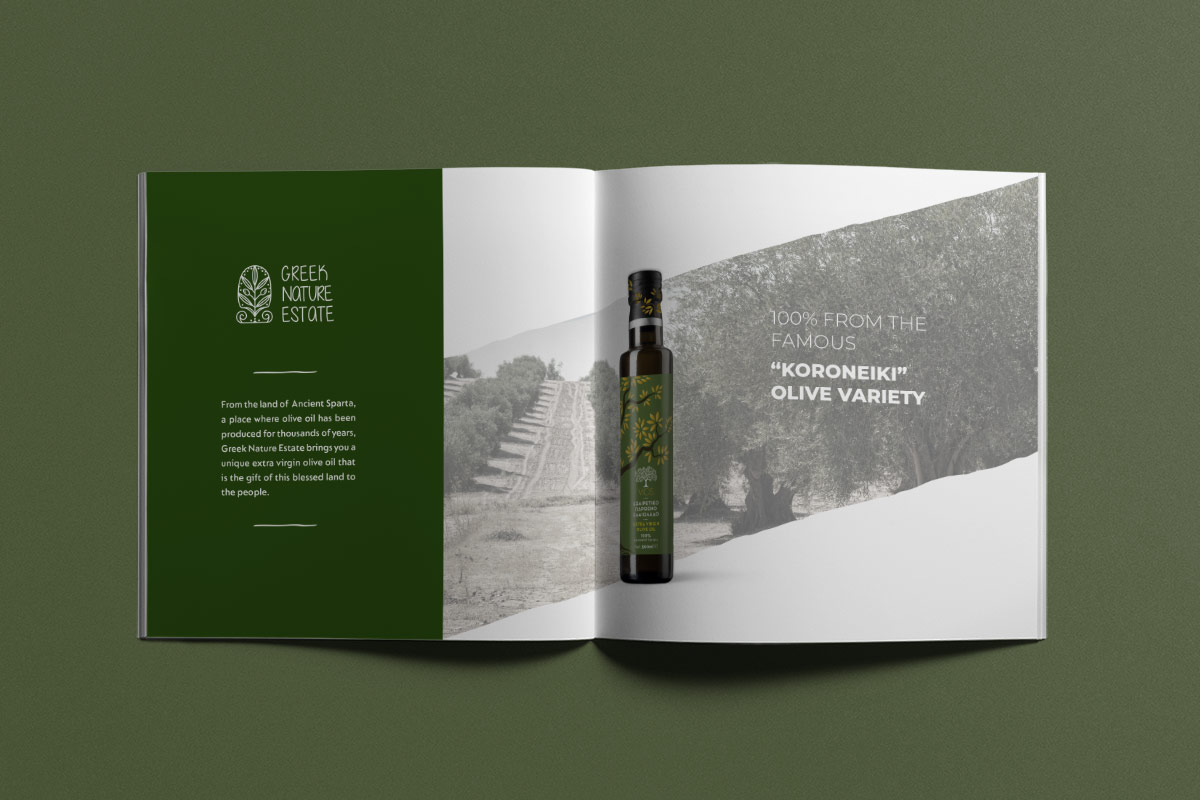 greek nature estate brochure